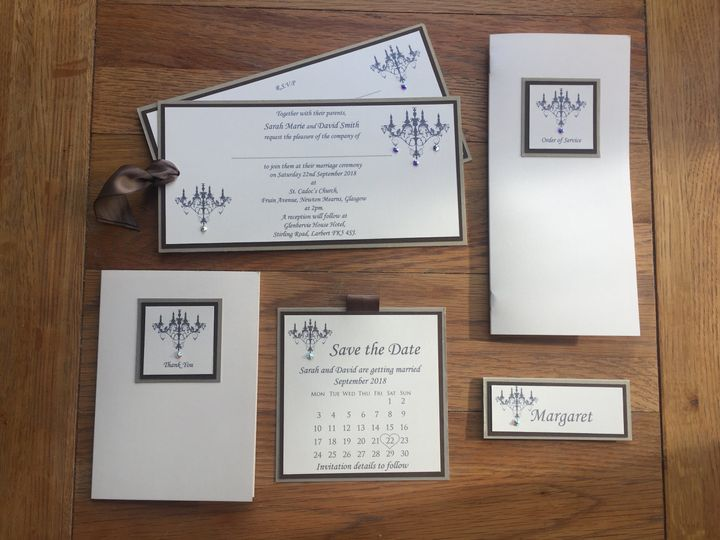 Wedding Stationery by Jennifer
