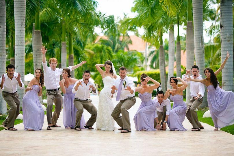 Bridal party on tour!