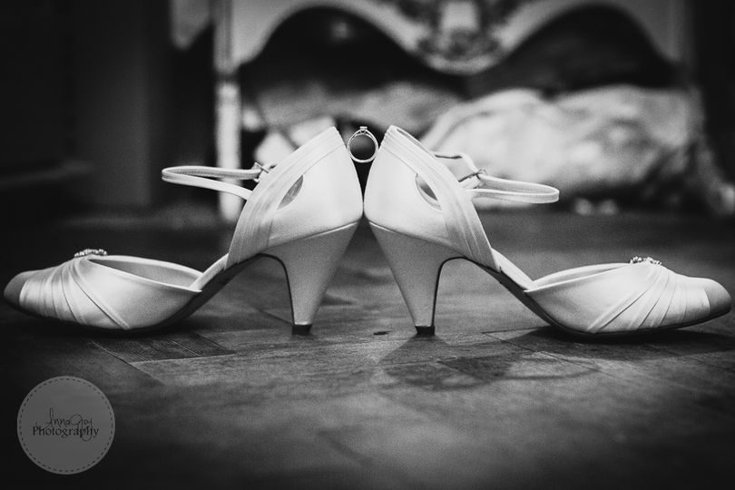 Shoes and ring