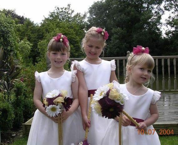 Flower girls bouquet