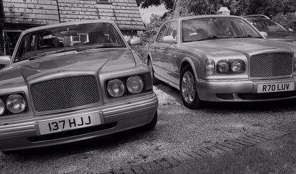 Confetti Wedding Cars 1