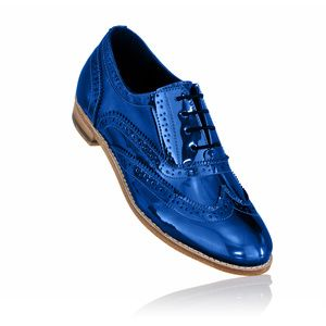Unisex brogues dark blue