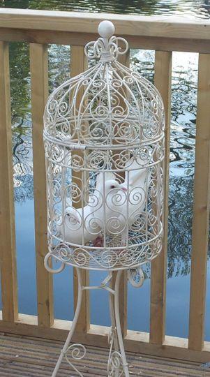 Small ornate cage