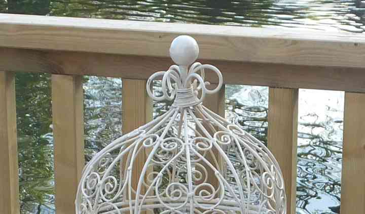Small ornate cage