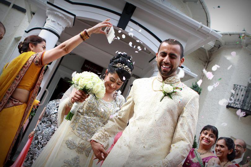Indian wedding at Brandon Hall