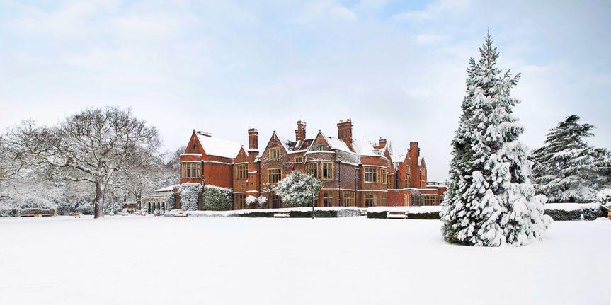 Warren House Snow