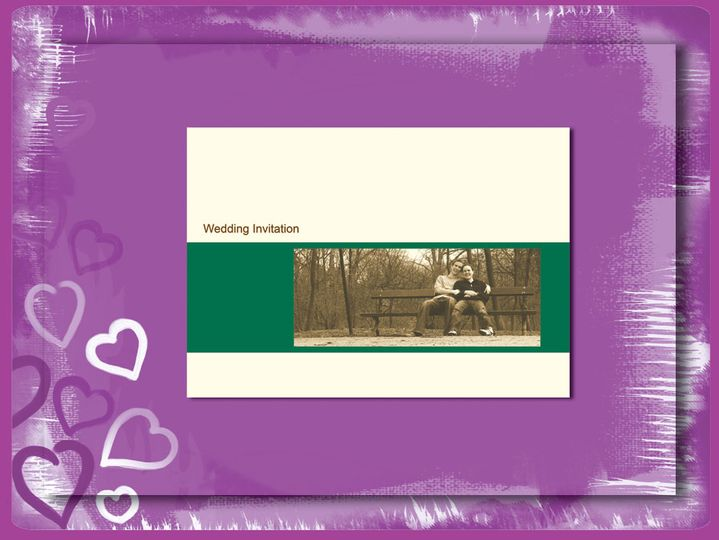 Bride and Groom Stationery