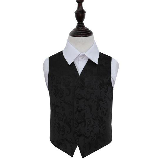 Passion boys black  waistcoat