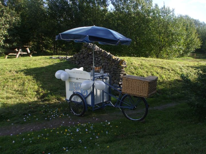 Henry our ice cream tricycle