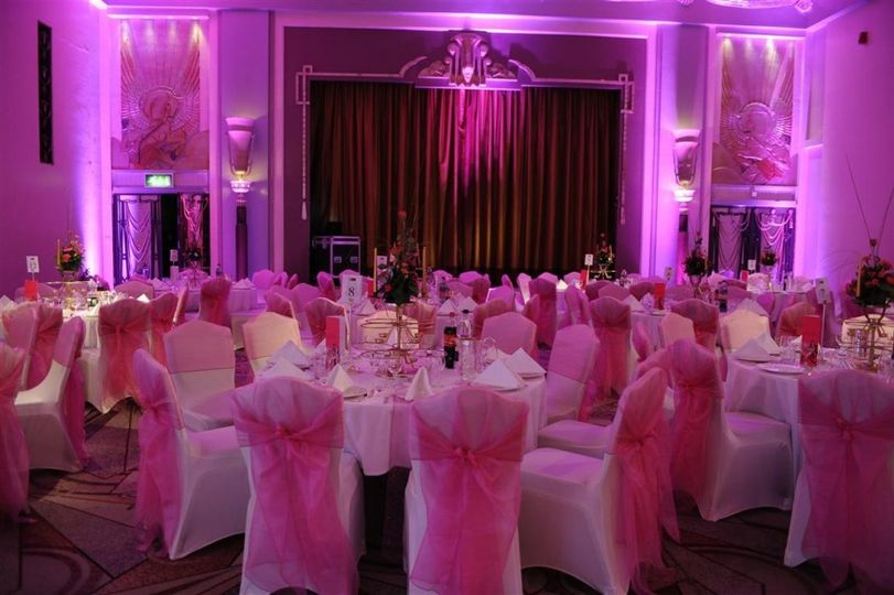 Fucshia wedding