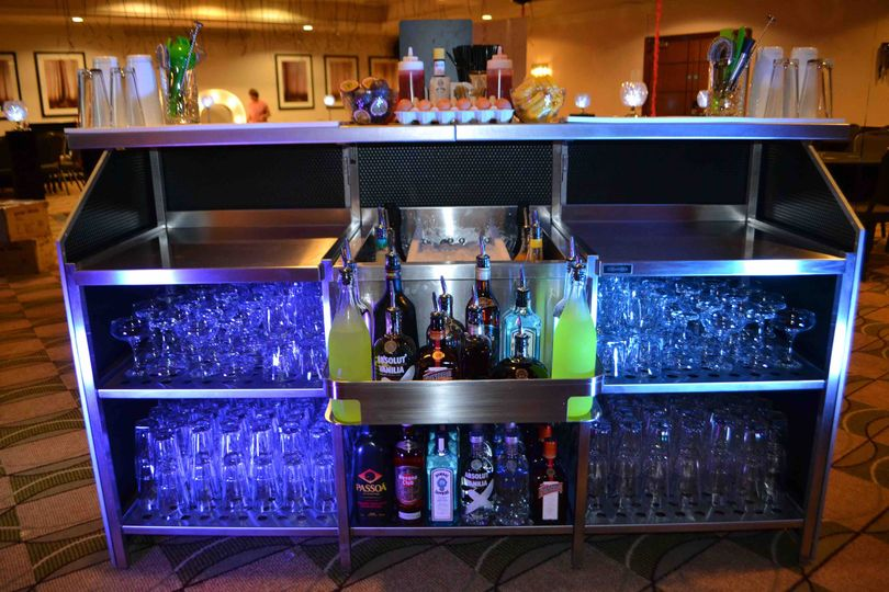 Professional cocktail bars