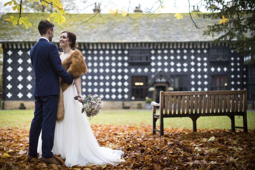 Autumn wedding at the Hall