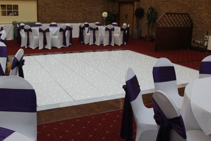 Chair covers and Dancefloors