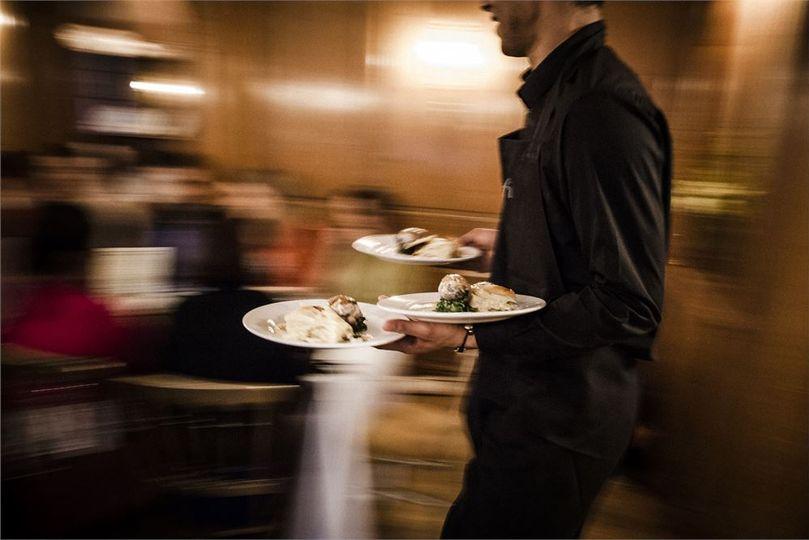 Serving Dinner