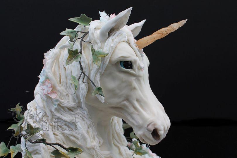 Award winning unicorn cake
