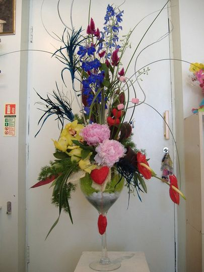 Aromatic arrangement with hearts