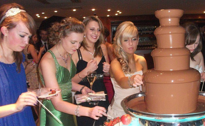 Chocolate lover's paradise