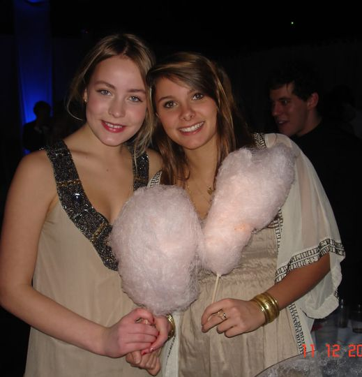 Candy Floss for weddings