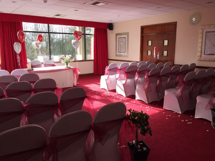 Ceremony room - April 16