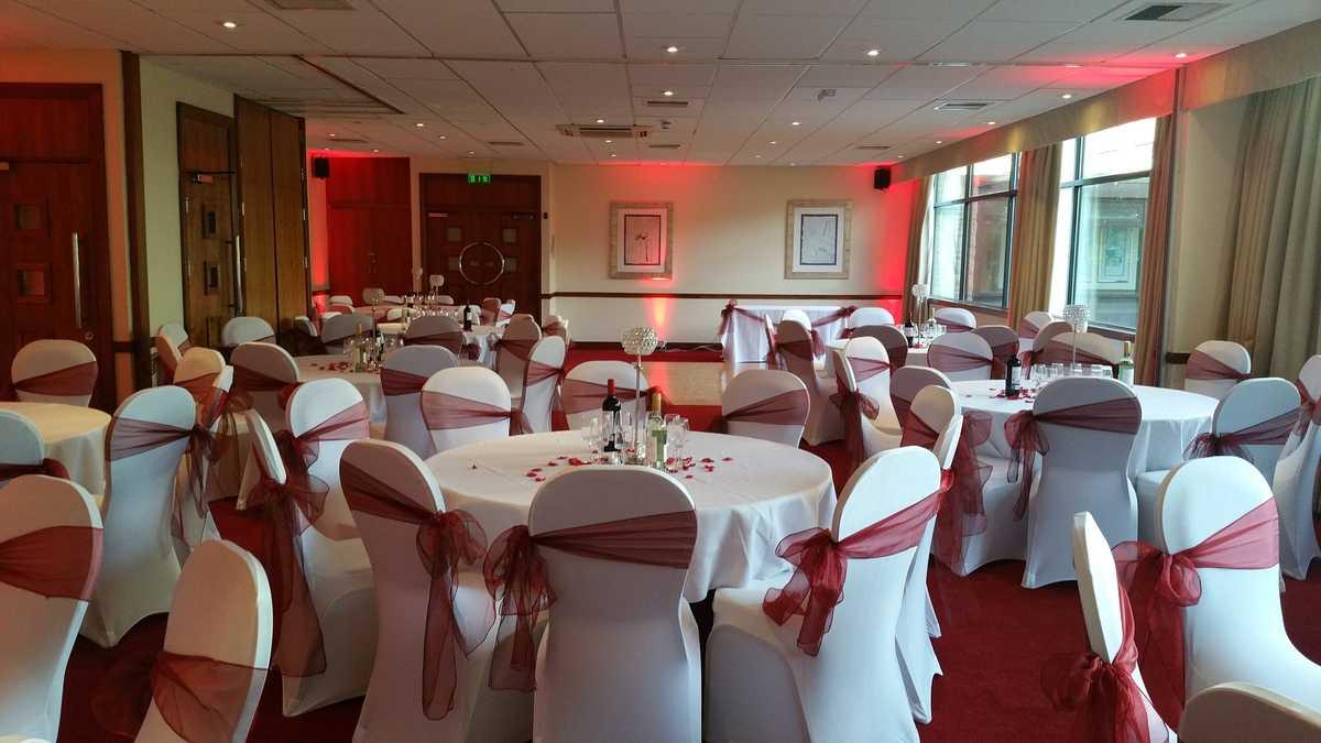 Wedding Breakfast -Sept 16 from Britannia Leeds Bradford