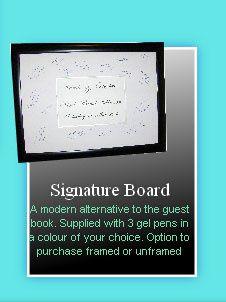 Signature Board