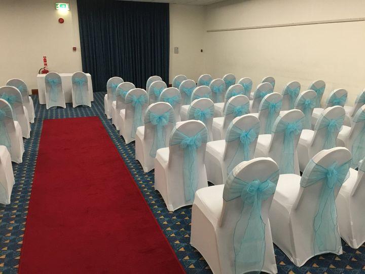 Ceremony room decor