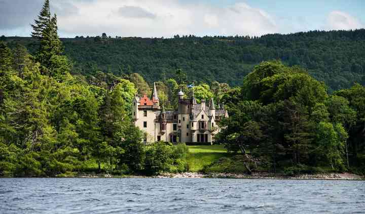 View from Loch Ness