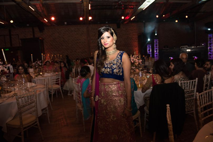 The groom's sister