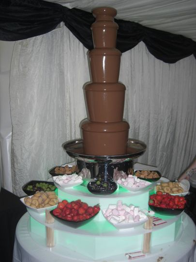 Chocolate Fountain Hire South Wales