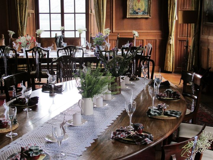 Dining room - tables set