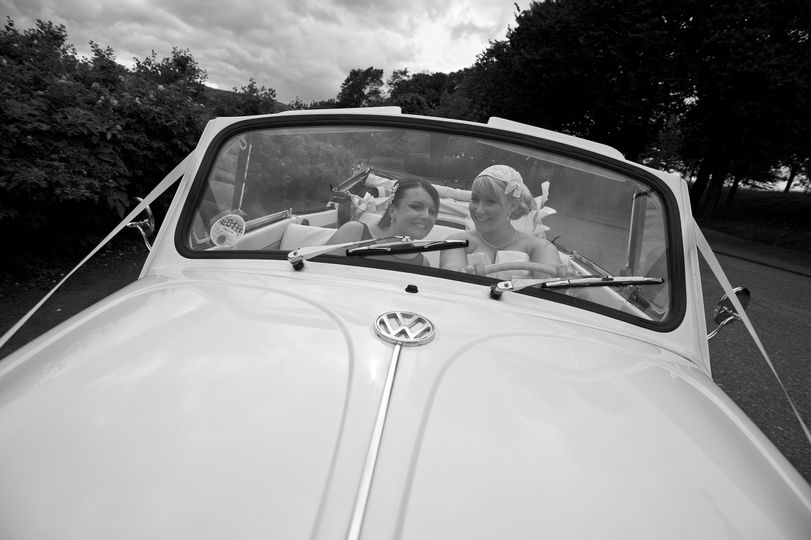 Girls in beetle