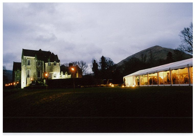 Marquee by night