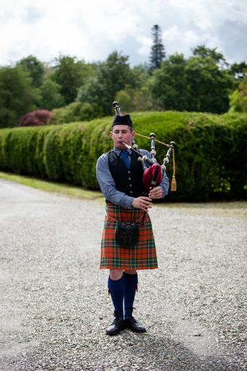 A piper to lead the way