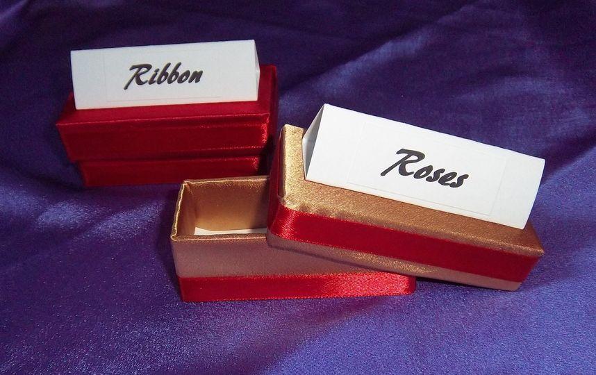 Place Card Favour Boxes
