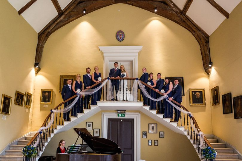 Great Hall Sweeping Staircase