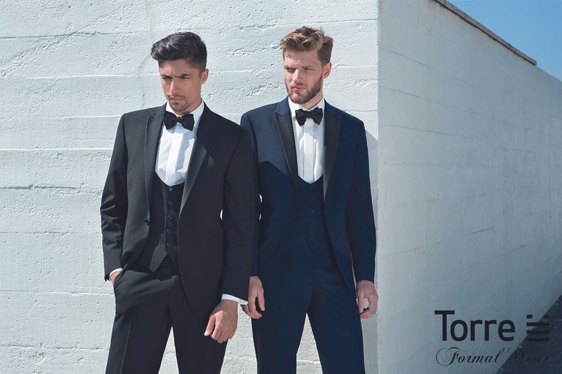 Black Tie From Elegans Menswear Photo 5