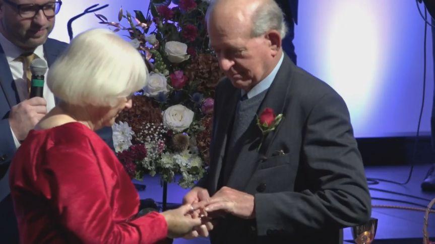 David & Edith's ceremony