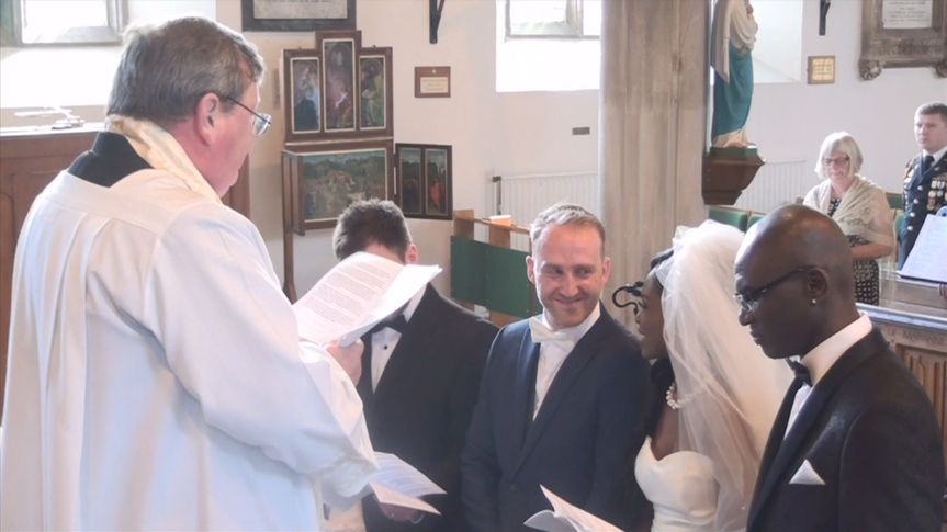 Luke & Anande's ceremony
