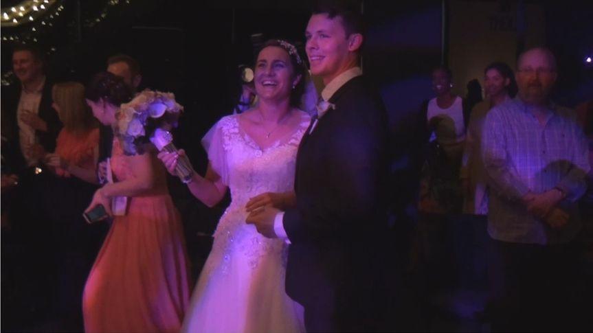 Matt & Jo's reception