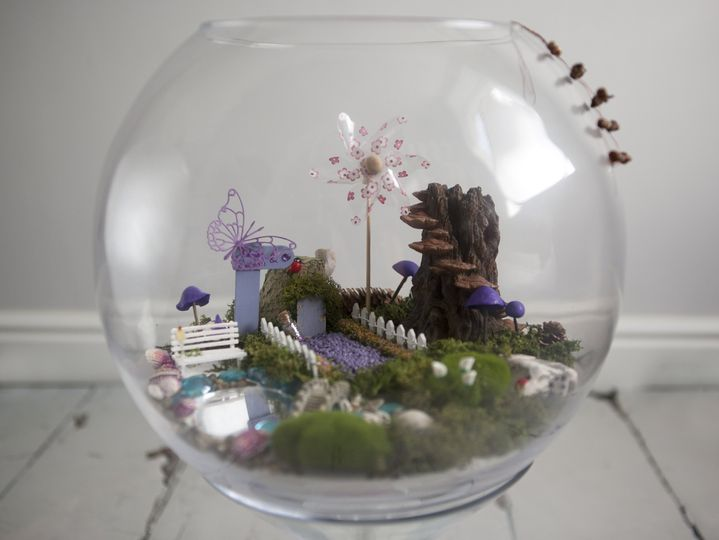 Fairy garden centre piece