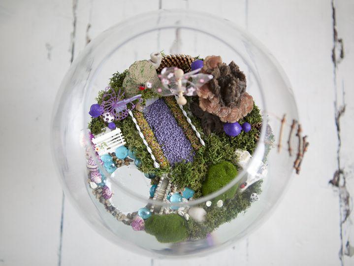Fairy garden centre piece