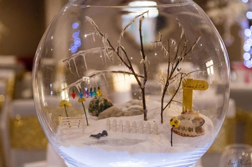 Miniature Winter Scene