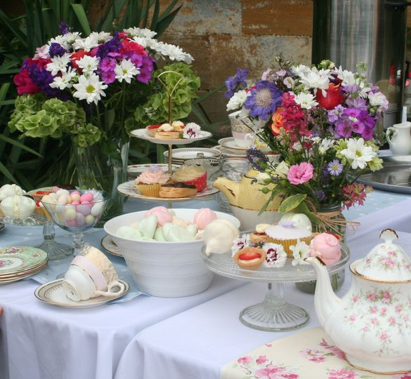 Enjoy a vintage afternoon tea arrival package at The Barn