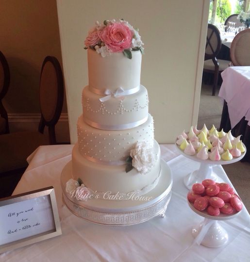 Wedding Cakes Derbyshire Area