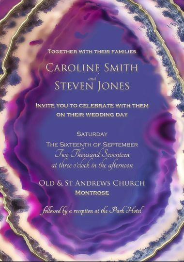 Geode Invitation