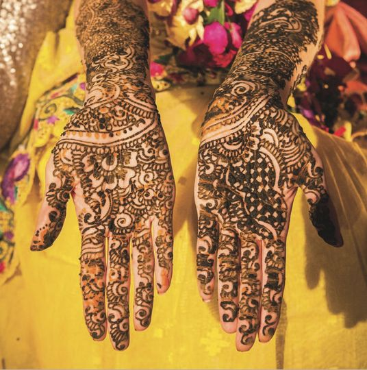 Bridal Mehndi Yorkshire : Mehndi from the vermilion hall photo