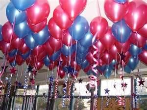 Helium Ceiling Balloons