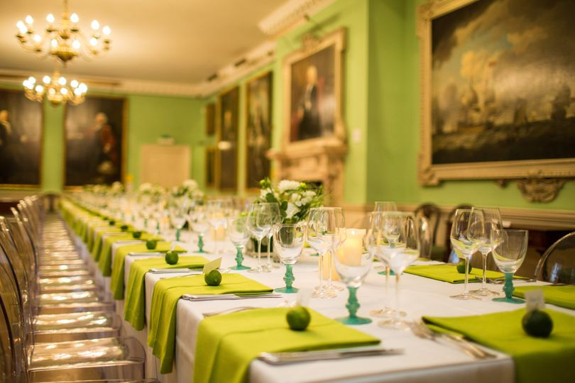 Dinner in The Picture Gallery