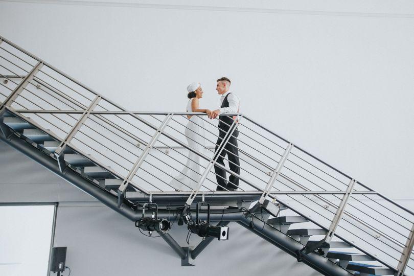 Stylish Barbirolli staircase