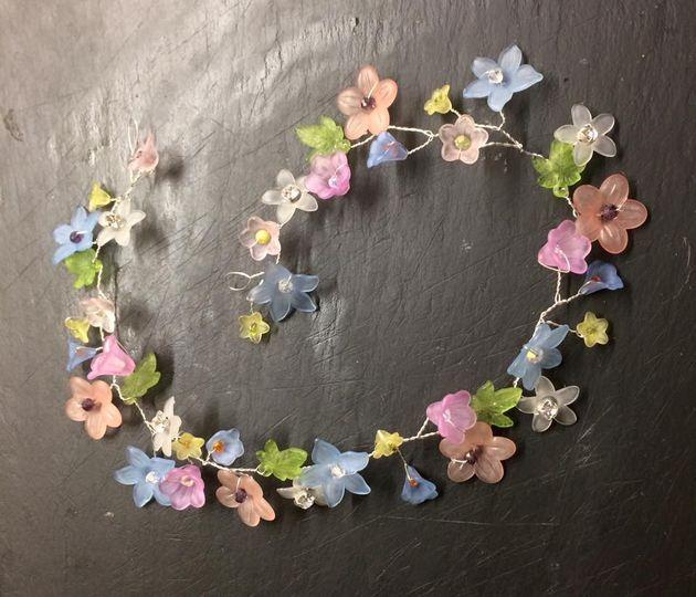 Boho flower vine